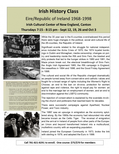 Irish Cultural Centre of New England